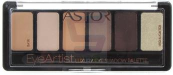 Astor Eye Artist Cienie do powiek Luxury cienie palette nr 100 Cosy Nude