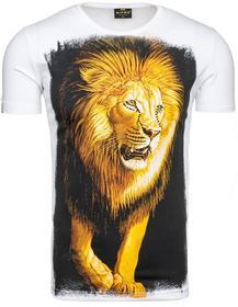 Ripro T-shirt męski 4280 biały 41749-4 Biały