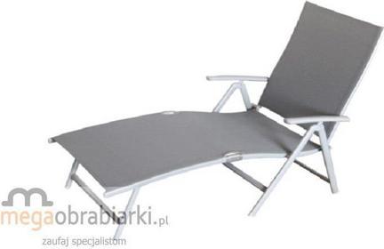 Siesta DESIGN Leżak ogrodowy aluminiowy FLORENCE LUX SDFLOREBLK0000