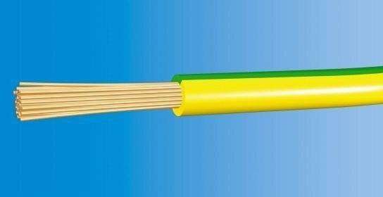 Telefonika Kable Przewód LgY-10mm2 450/750V H07V-K ŻÓŁTO-ZIELONY
