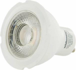 Whitenergy Żarówka LED GU10, COB, 8W, 230V, ciepła biała 09819