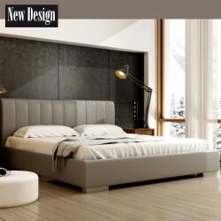 New Design Łóżko NAOMI tapicerowane Rozmiar 120x200 Tkanina Grupa I Pojemnik Bez pojemnika