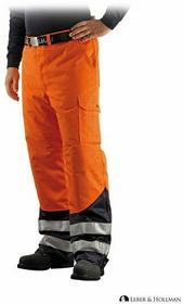 Leber & Hollman Ocieplane spodnie robocze do pasa ostrzegawcze LH-PROVIFER_T