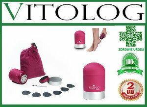 PEDI PRO Elektryczna tarka do stóp i piet pielęgnacja pedicure urządzenie usuwaj