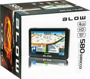 Blow GPS580 Sirocco AutoMapa Polska