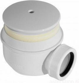 Alcaplast Syfon do brodzika kryty biały A47B O50