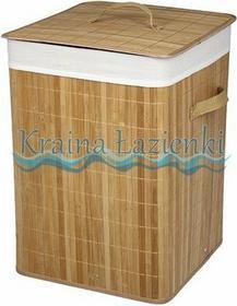 Bisk kosz kwadrat light bamboo 35x35x50 cm 05183