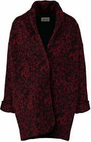 Ganni Płaszcz wełniany /Płaszcz klasyczny syrah F0711