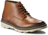Clarks Trzewiki Frelan Hike 261194817 Cognac Leather skóra naturalna/licowa