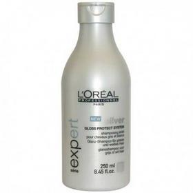 Loreal PROFESSIONNEL EXPERT Silver Shampoo Szampon do włosów siwych lub mocno rozjaśnianych 250ml