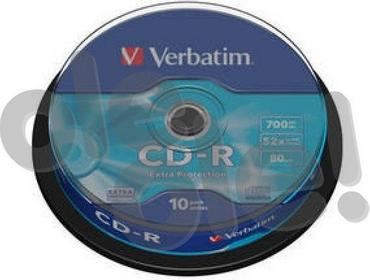 Verbatim CD-R Extra Protection 10 szt