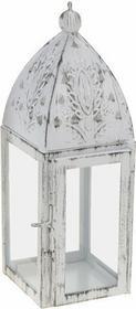 Lampion Latarnia, kwadratowy, 20 cm 382894-kwadrat
