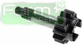 Koło zębate z wałkiem napędu pompy hydraulicznej do Ursus C-360 50546450