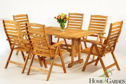 Home&Garden Meble Ogrodowe Drewno Akacja S150K