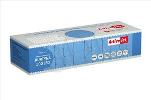 ActiveJet Kurtyna LED AJE-CURT200/2,3M/WW/BLINK/MUL/IP44