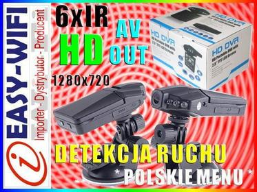 Sklep Easy-WiFi KAMERA SAMOCHODOWA HD 720p IR DZIEŃ/NOC WYJŚCIE AV
