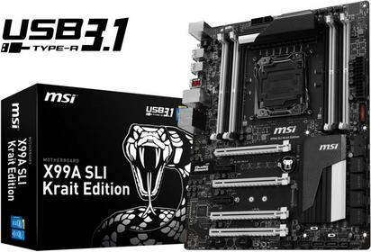 MSI X99A SLI Krait Edition/3.1