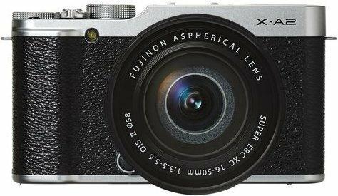Fuji X-A2 + 16-50 srebrny