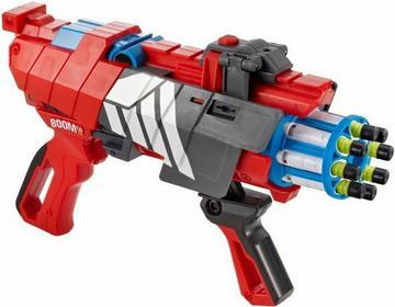 Mattel Boom Co Wyrzutnia Twisted Spinner BGY62