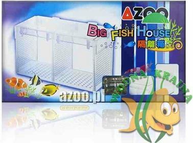 Azoo BIG FISH HOUSE - DUŻY Kotnik SUPER!!!