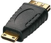 Lindy Przejściówka (łącznik) gniazdo HDMI - wtyk mini HDMI 41235