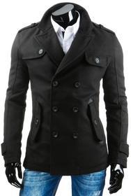 DStreet Płaszcz męski czarny (cx0306)