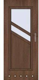 Skrzydło drzwiowe łazienkowe Antiope m2 70 prawe orzech