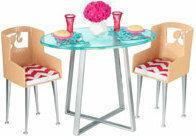 Mattel Barbie - Stół z krzesłami CGM01