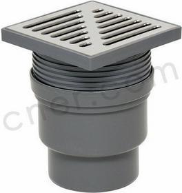 Tycner Wpust kanalizacyjny regulowany wyjście proste110mm
