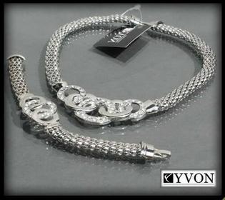 YVON Naszyjnik i bransoletka - komplet 2101111013779