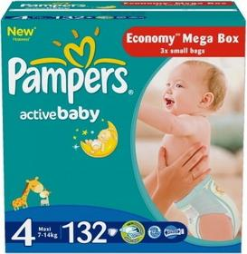 Pampers Active Baby 4 Maxi 132 szt.
