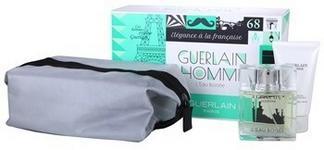 Guerlain Homme L´Eau Boisée woda toaletowa 80 ml + żel pod prysznic 75 ml + torebka
