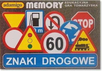Adamigo Memory Znaki drogowe 0329