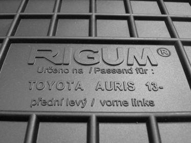Rigum Dywaniki Gumowe Toyota Auris (2012-)