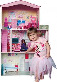 Woodyland Kolorowy dom dla lalek z windą