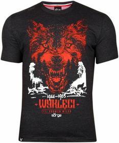 Surge Polonia T-shirt T-shirt Żołnierze wyklęci ciemno szara
