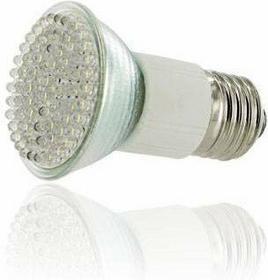 Whitenergy Żarówka 80 LED E27 Biała Ciepła 3000K) 4W 06978