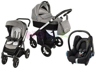 Baby Design Lupo Husky 3w1 czarny