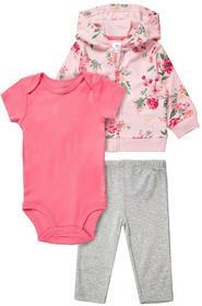 Carters SET Bluza rozpinana pink 121G754