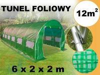 MultiStore Tunel foliowy ogrodowy szklarnia 6 x 2m T2-600