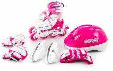 Kinderplay Rolki różowe