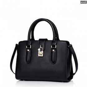 Nucelle Modna elegancka torebka do ręki czarny 1170766-01