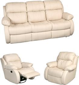 Resto Design Sofa KAOS 3F+1M+1M RELAX skóra naturalna