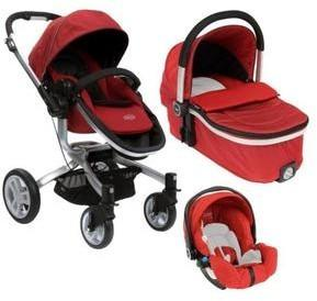 Graco SYMBIO 3w1 CHILLI RED