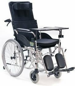 MDH Wózek inwalidzki specjalny, stabilizujący plecy i głowę VCWK703
