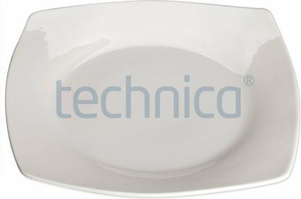 Stalgast Talerz płytki kwadratowy 235 mm | , Elegantia STALGAST-397014