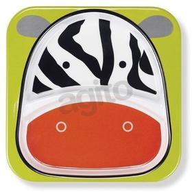 Skip Hop Talerz Zoo Zebra