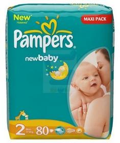 Pampers New Baby 2 Mini 80 szt.