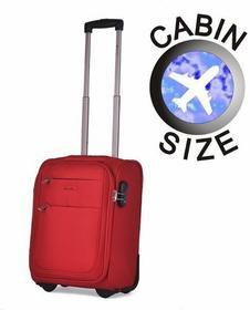 Puccini Mała walizka EM-50307 D czerwona