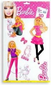 Barbie 2- naklejka ścienna licencjonowana dla dzieci